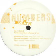 """Numbers - Death Remixes Vol. 1 - 12"""" Vinyl"""