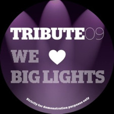 "Tribute Edits #9 - We Love Big Lights - 12"" Vinyl"