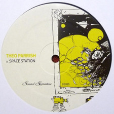 """Theo Parrish - Space Station - 12"""" Vinyl"""
