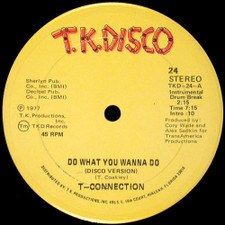 """T-connection - Do What You Wanna Do - 12"""" Vinyl"""