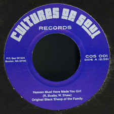 """Original Black Sheep Of The Family - Heaven Must Have Made You Girl - 7"""" Vinyl"""