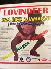 Lovindeer - Jam Like a Jamaican - LP Vinyl