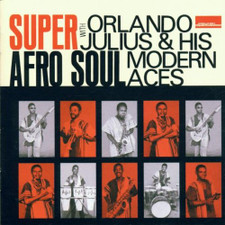Orlando Julius & His Modern Aces - Super Afro Soul - 2x LP Vinyl +CD