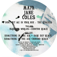 "Maya Jane Coles - Don't Put Me In Your Box - 12"" Vinyl"