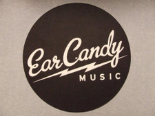 Ear Candy - black - Single Slipmat