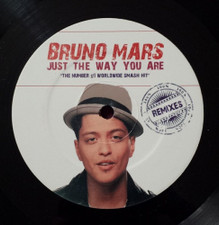 "Bruno Mars - Just The Way You Are Remixes - 12"" Vinyl"