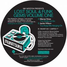 """Nik Weston - Lost Funk & Soul Gems Vol.1 - 7"""" Vinyl"""