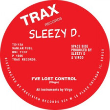 "Sleezy D - I've Lost Control - 12"" Vinyl"