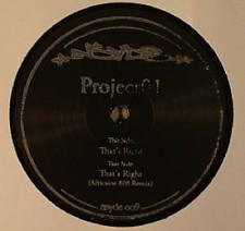 "Project01 - That's Right - 12"" Vinyl"