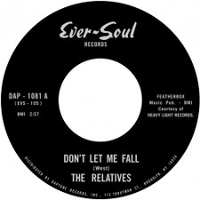 "The Relatives - Don't Let Me Fall - 7"" Vinyl"