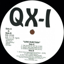"""QX-1 - Love Injection - 12"""" Vinyl"""
