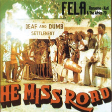 Fela Kuti - He Miss Road - LP Vinyl