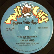 "45 King - 900 Number Plain Sleeve - 7"" Vinyl"