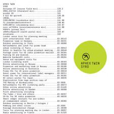 Aphex Twin - Syro - 3x LP Vinyl