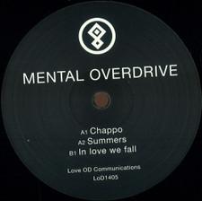 "Mental Overdrive - In Love We Fall - 12"" Vinyl"