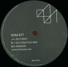 "Dom 877 - Do It Right - 12"" Vinyl"