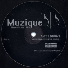 "Faces Drums / Steve Poindexter - Faces Drums / Short Circuit - 12"" Vinyl"
