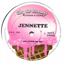 """Jennette - You Turn Me On - 12"""" Vinyl"""