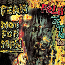 Fela Kuti & Africa 70 - Feat Not For Man - LP Vinyl
