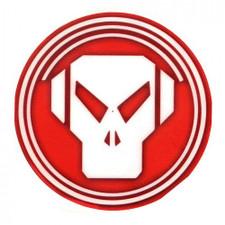 Sicmats - Metalheadz Red / White - Slipmats (Pair)