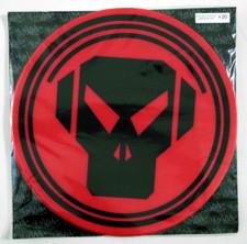 Sicmats - Metalheadz Red / Black - Slipmats (Pair)