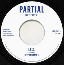 "Investigators - IRS - 7"" Vinyl"