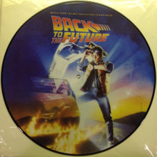 Various Artists - Back To The Future (Music From Motion Picture Soundtrack) - LP Picture Disc Vinyl