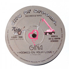 """Gina - Hooked On Your Love - 12"""" Vinyl"""