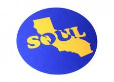 Cali Soul - Blue / Yellow - Single Slipmat