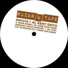 """Al Kent - Edits - 12"""" Vinyl"""