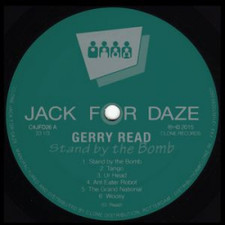 """Gerry Read - Stand By the Bomb - 12"""" Vinyl"""