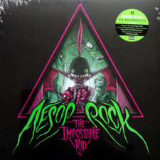 Aesop Rock - The Impossible Kid - 2x LP Colored Vinyl