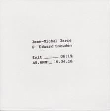 "Jean-Michel Jarre & Edward Snowden - Exit - 7"" Vinyl"