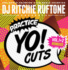 "Dj Richie Ruftone - Practice Yo! Cuts Vol. 1+2 Remixed - 7"" White Vinyl"
