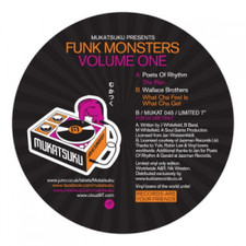 "Poets Of Rhythm / Wallace Brothers - Funk Monsters Vol. 1 - 7"" Vinyl"