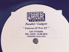 "Parallel / Gadgets - Patterns Of War Ep promo - 12"" Vinyl"