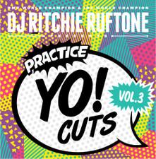 Dj Richie Ruftone - Practice Yo! Cuts Vol. 3 - LP Vinyl
