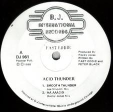 """Fast Eddie - Acid Thunder - 12"""" Vinyl"""