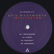 "Kris Wadsworth - Infiltrator (Album Sampler) - 12"" Vinyl"