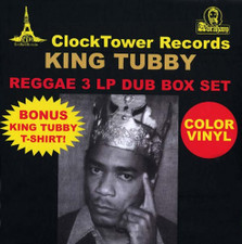 King Tubby - Reggae 3 LP Dub Box Set - 3x LP Vinyl Box Set