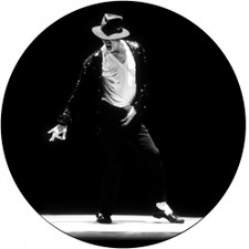 Michael Jackson - Dancing - Single Slipmat