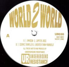 """Underground Resistance - World 2 World - 12"""" Vinyl"""