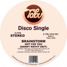 "Brainstorm - Hot For You / Journey Into The Light (Danny Krivit Edits) - 12"" Vinyl"