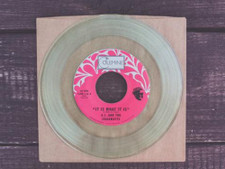 """AJ & The Jiggawatts - It Is What It Is / Party Music - 7"""" Clear Vinyl"""
