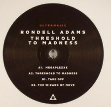 "Rondell Adams - Threshold To Madness - 12"" Vinyl"