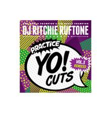 "DJ Richie Ruftone - Practice Yo! Cuts Vol. 3 Remixed - 7"" Green Vinyl"
