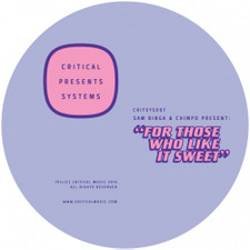 "Sam Binga & Chimpo - For Those Who Like It Sweet - 12"" Vinyl"