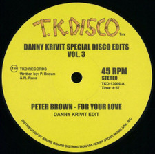 """Danny Krivit - Special Disco Edits Vol. 3 - 12"""" Vinyl"""