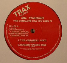 "Mr. Fingers - The Complete Can You Feel It - 12"" Vinyl"