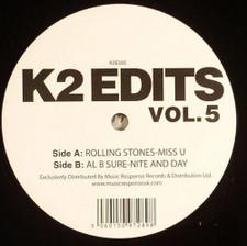 """Rolling Stones / Al B Sure - K2 Edits Vol. 5 - 12"""" Vinyl"""